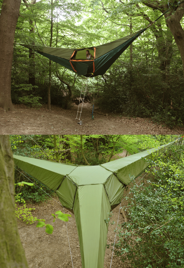 You donu0027t get any unwanted guests you have all the intimacy you want up there. You can sleep or watch over the entire zone from inside. & Tentsile Suspended Tree Tent - HisPotion
