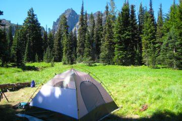 suitable camp site