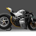 Spike-Wheeled Ducati - T...