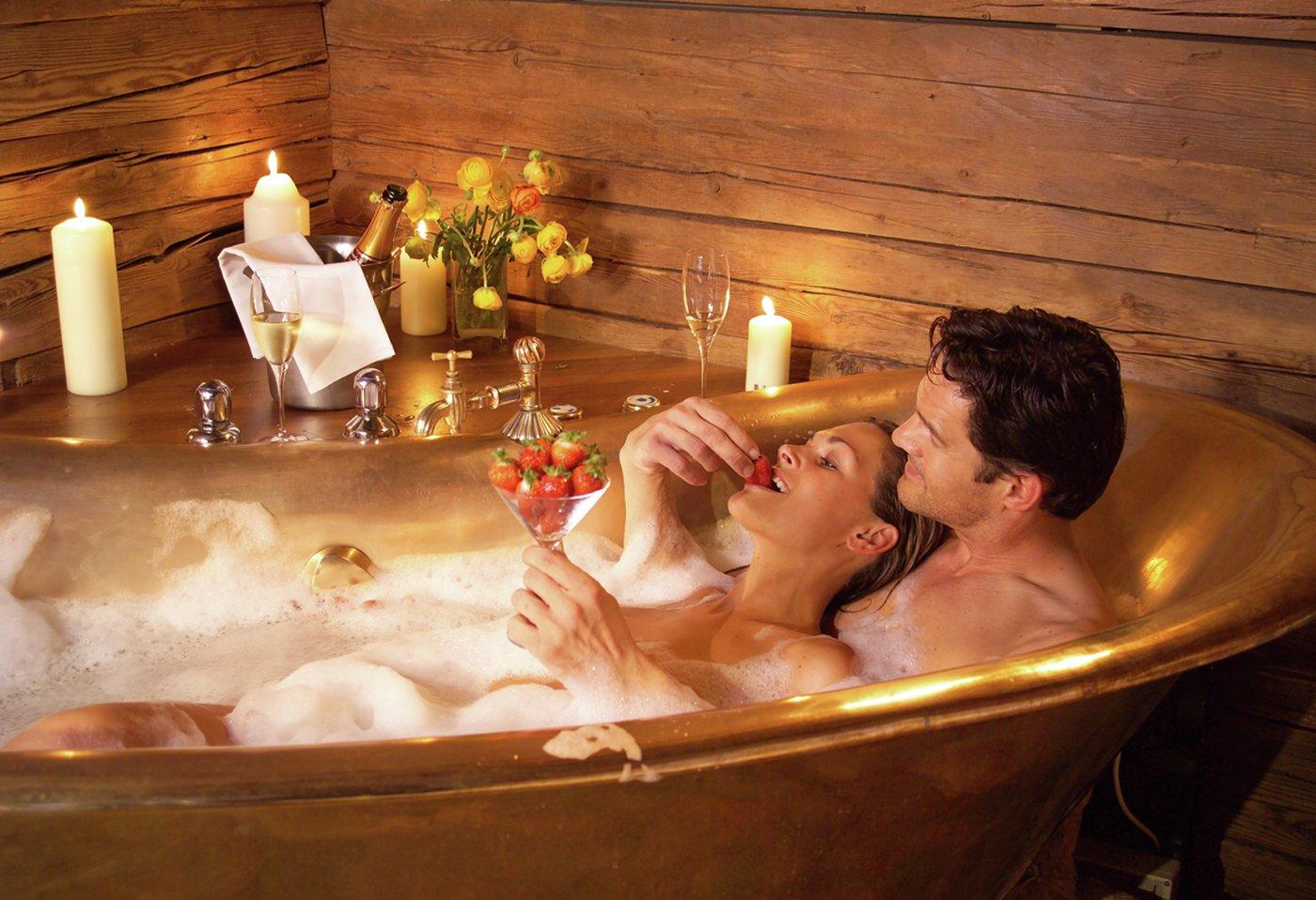 Поцелуй в ванне 4 фотография