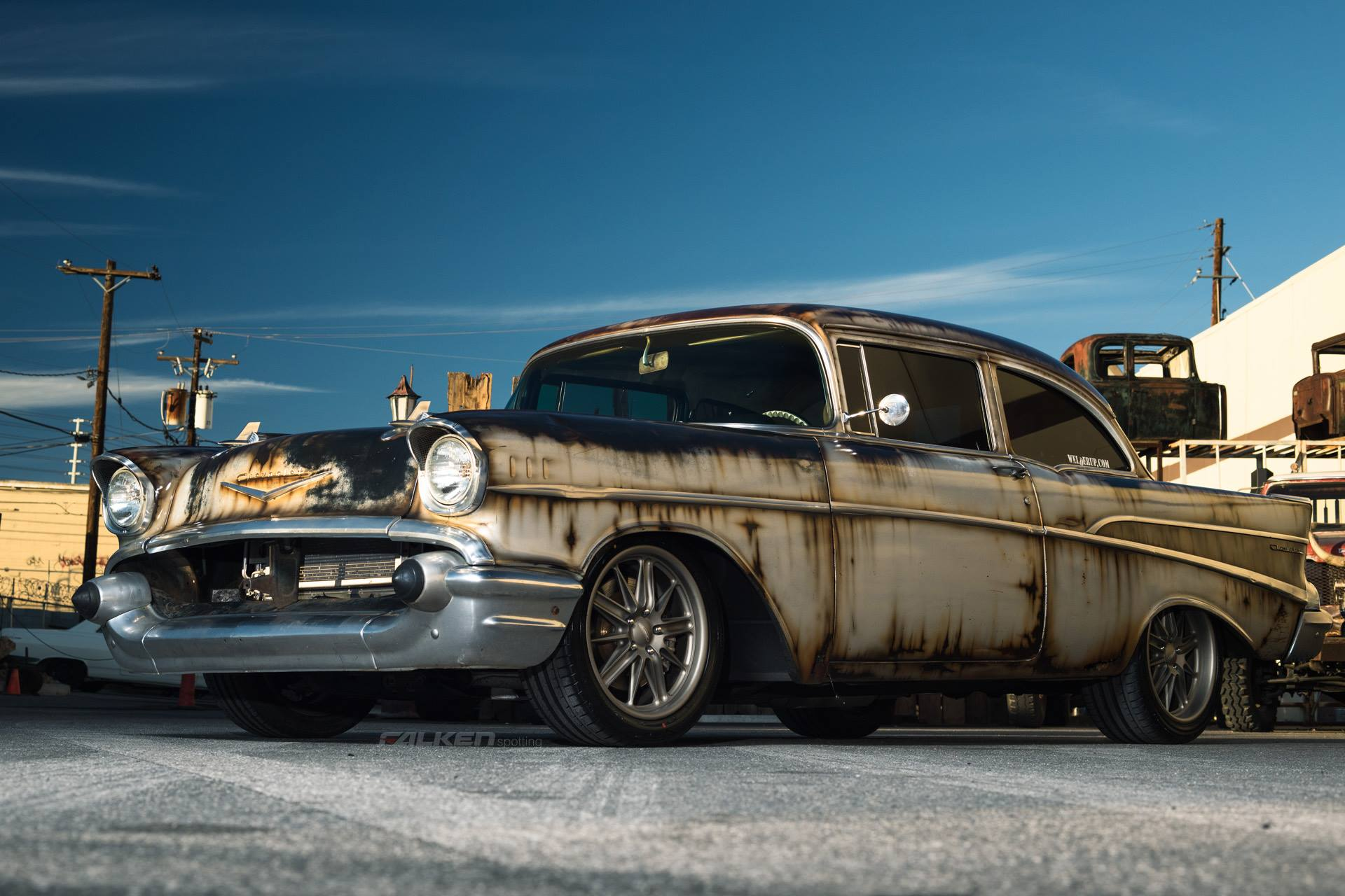 Chevrolet Bel Air 57 Hispotion